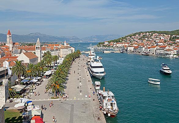 Трогир Хорватия. Фото: GLOBAL LOOK press