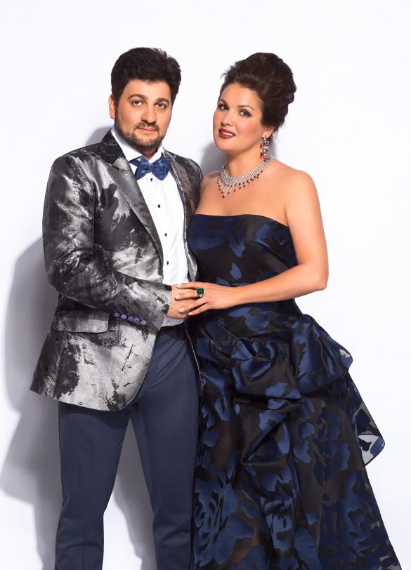 Юсиф Эйвазов и Анна Нетребко. Фото: пресс-служба артистов