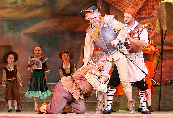 "Балет ""Дон Кихот"". Фото: kremlinpalace.org"