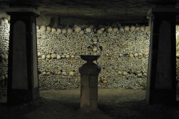 Катакомбы Парижа. Фото: wikipedia.org