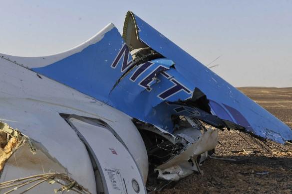 Катастрофа A321 над Синайским полуостровом. Фото: GLOBAL LOOK press
