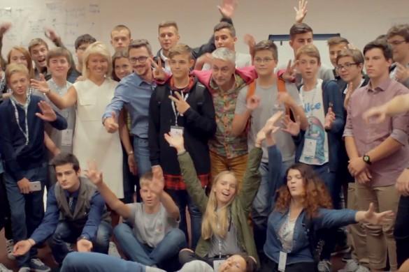 Startup Academy Junior. Фото: кадр youtube.com