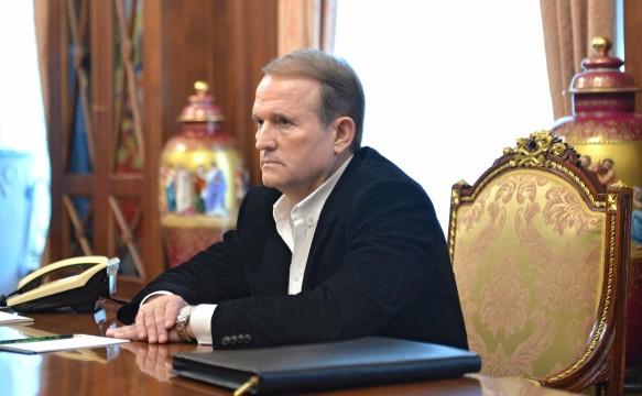 Виктор Медведчук.  Фото: GLOBAL LOOK press/Kremlin Pool