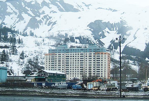 Уиттиер, Аляска. Фото: wikipedia.org