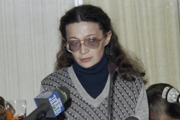 Наталья Воронцова. Фото: Чохонелидзе Ираклий/Фотохроника ТАСС