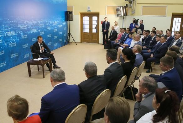 Дмитрий Медведев. Фото: Екатерина Штукина/ТАСС