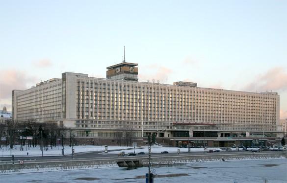 """Гостиница """"Россия"""". Фото: wikipedia.org"""
