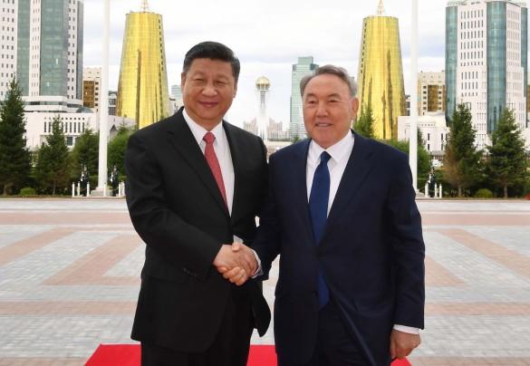 Си Цзиньпин и Нурсултан Назарбаев. Фото: akorda.kz