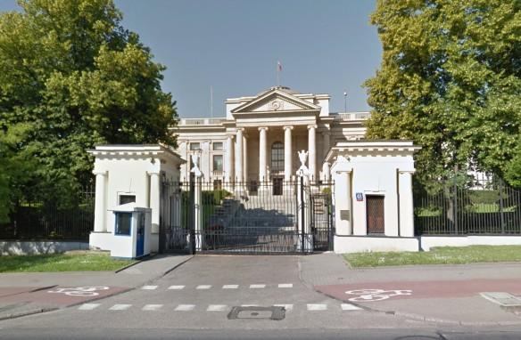 Российское посольство в Польше. Фото: google.ru/maps