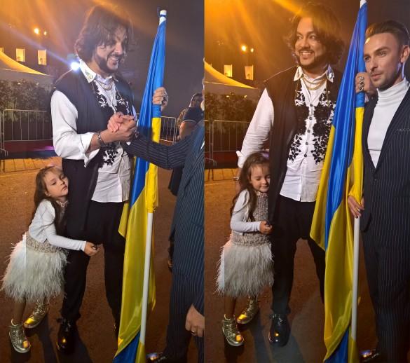 Филипп Киркоров и его дочь Алла-Виктория. Фото: Феликс Грозданов/Dni.Ru