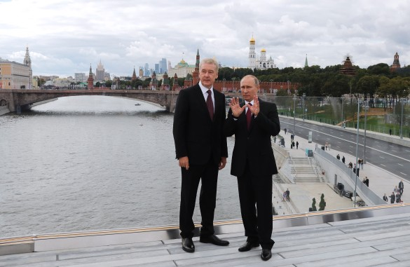 Сергей Собянин и Владимир Путин. Фото: Михаил Метцель/ТАСС