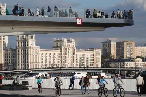 Парящий мост. Фото: Михаил Метцель/ТАСС