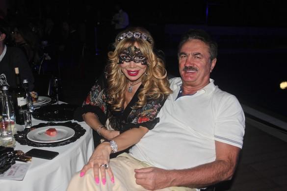 Маша Распутина с мужем. Фото: Роман Родин