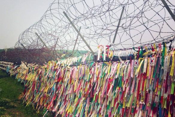 Демилитаризованная зона разделяет пополам Корейский полуостров. Фото: Ирина Лавери