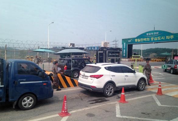 Выезд из Сеула в демилитаризованную зону. Фото: Ирина Лавери