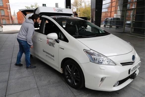 Презентация беспилотного автомобиля. Фото: Михаил Метцель/ТАСС