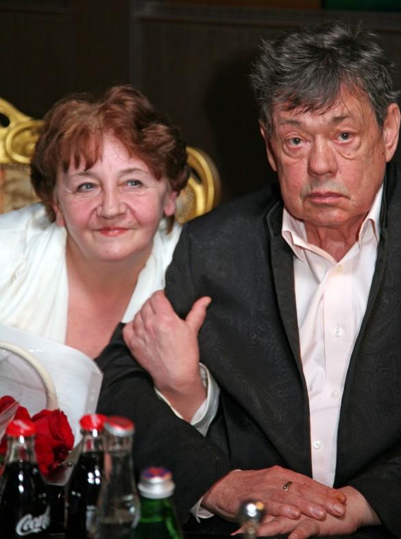 Николай Караченцов и Елена Суржикова. Фото: личный архив