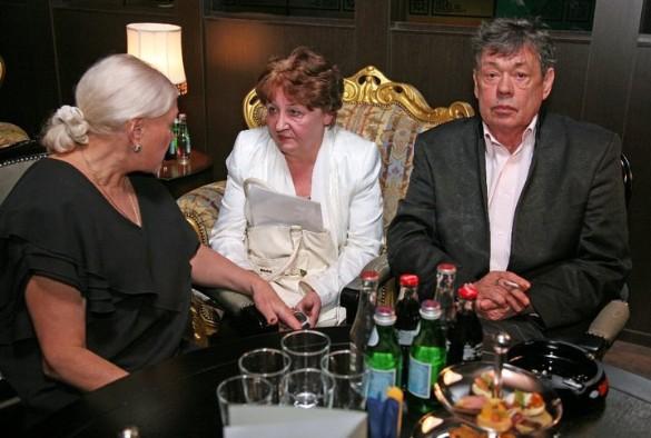 Николай Караченцов, Людмила Поргина и Елена Суржикова. Фото: личный архив