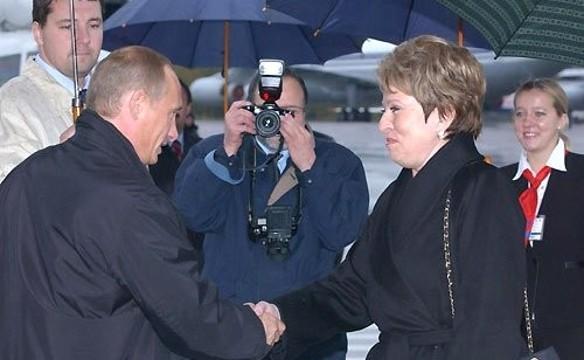 Владимир Путин и Валентина Матвиенко. Фото: kremlin.ru
