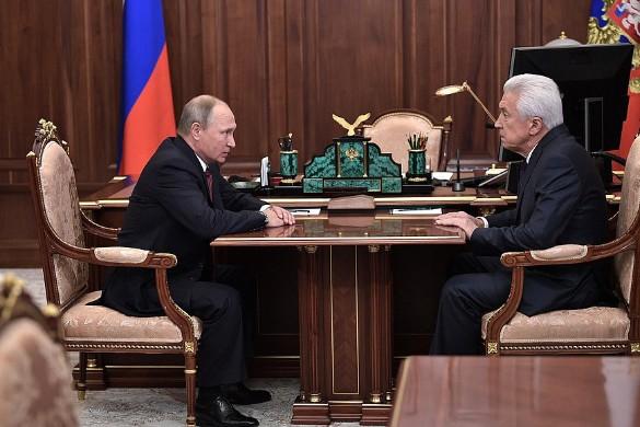 Владимир Путин и Владимир Васильев. Фото: kremlin.ru