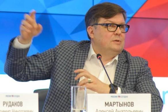 Алексей Мартынов. Фото: facebook.com