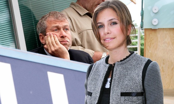 Роман Абрамович и Даша Жукова. Фото: dni.ru