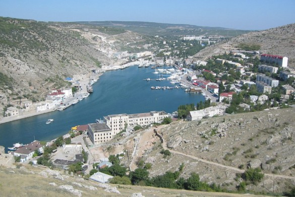 Балаклавская бухта. Фото: wikipedia.org