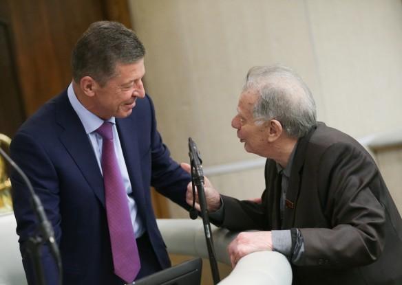 Дмитрий Козак и Жорес Алферов. Фото: Aнна Исакова/ТАСС