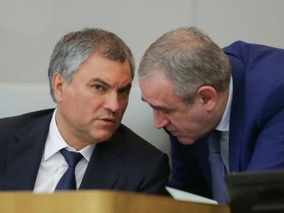 Вячеслав Володин и Сергей Неверов. Фото: duma.gov.ru