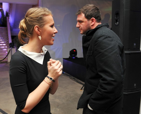 Ксения Собчак и Максим Виторган. Фото: GLOBAL LOOK press/Pravda Komsomolskaya