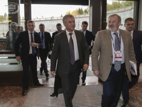 Вячеслав Володин (в центре). Фото: duma.gov.ru