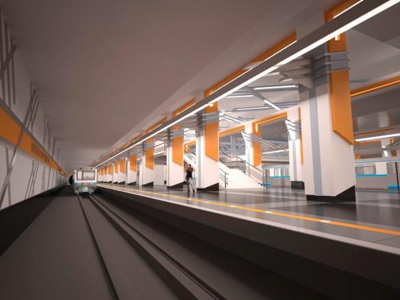 """Станция """"Нижегородская улица"""". Фото: stroi.mos.ru"""