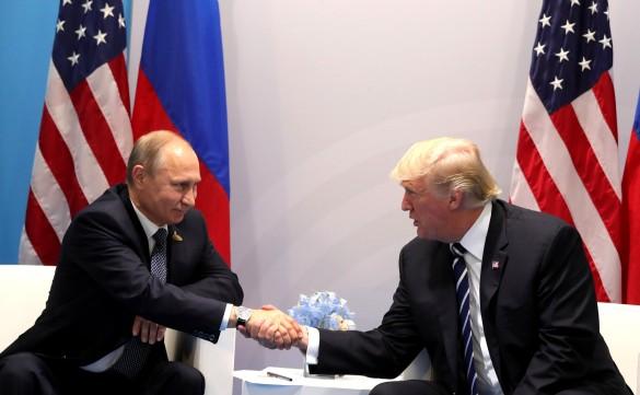 Владимир Путин, Дональд Трамп. Фото: GLOBAL LOOK press/Mikhail Klimentyev