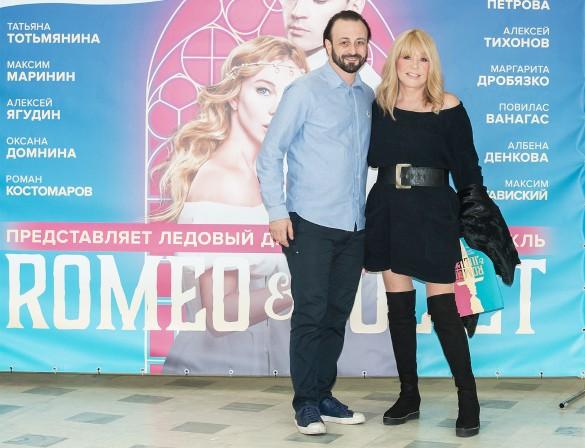 "Илья Авербух и Алла Пугачева. Фото: пресс-служба мюзикла ""Romeo & Juliette"""