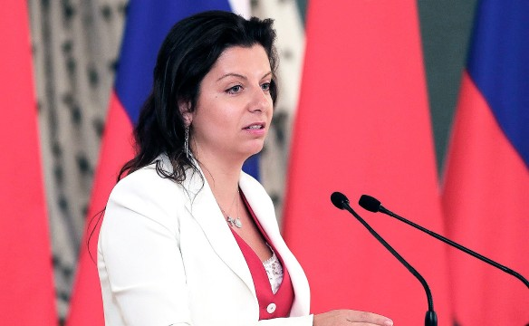 Маргарита Симоньян. Kremlin Pool