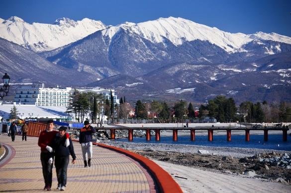 Горы Кавказа, Сочи. Фото: GLOBAL LOOK press