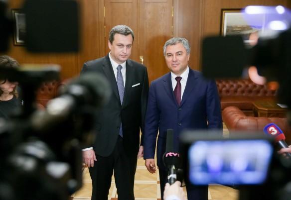 Вячеслав Володин и Андрей Данко. Фото: vk.com/duma