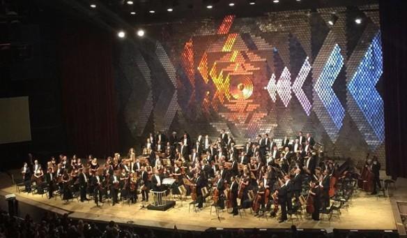 Оркестр под управлением Валерия Гергиева. Фото: instagram.com/v_gergiev