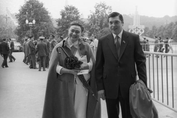 Галина Брежнева и Юрий Чурбанов. Фото: wikipedia.org