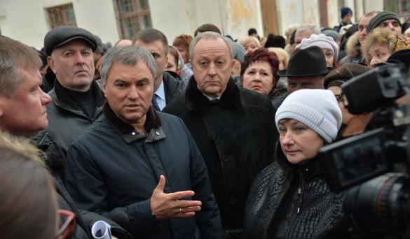 Вячеслав Володин и Валерий Радаев. Фото: saratov.gov.ru