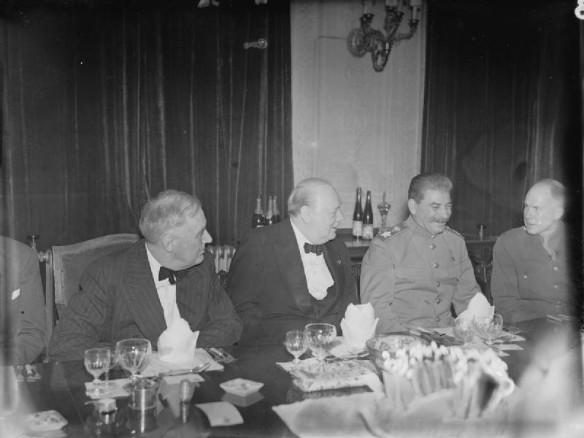 Франклин Рузвельт, Уинстон Черчилль, Иосиф Сталин. Фото: wikipedia.org