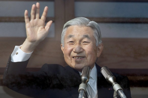 Император Акихито. Фото: GLOBAL LOOK press/Junko Kimura