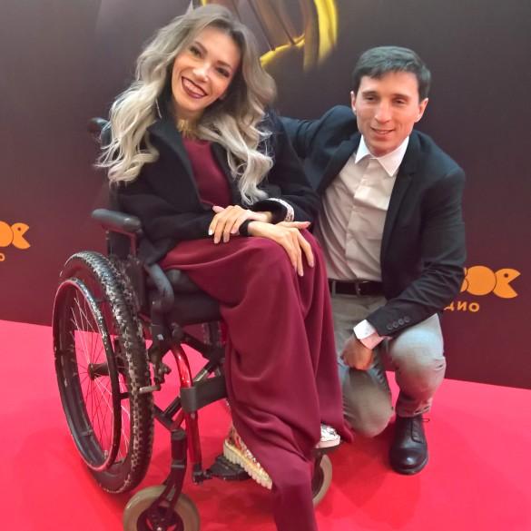 Юлия Самойлова с мужем. Фото: Феликс Грозданов/Dni.Ru