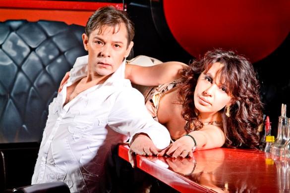 Вадим Казаченко с женой. Фото: пресс-служба