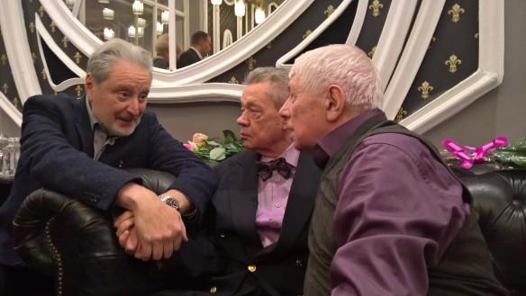 Фото: Вениамин Смехов много лет дружит с Николаем Караченцова. Фото: Dni.Ru/Феликс Грозданов