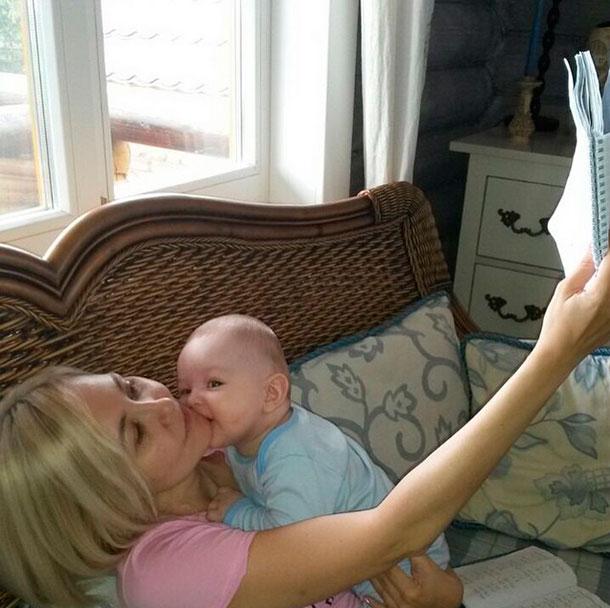 Домашние фото мамы исына фото 189-825