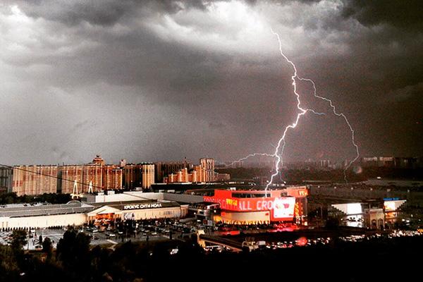 Москву затапливает в результате рекордных дождей - Цензор.НЕТ 6706