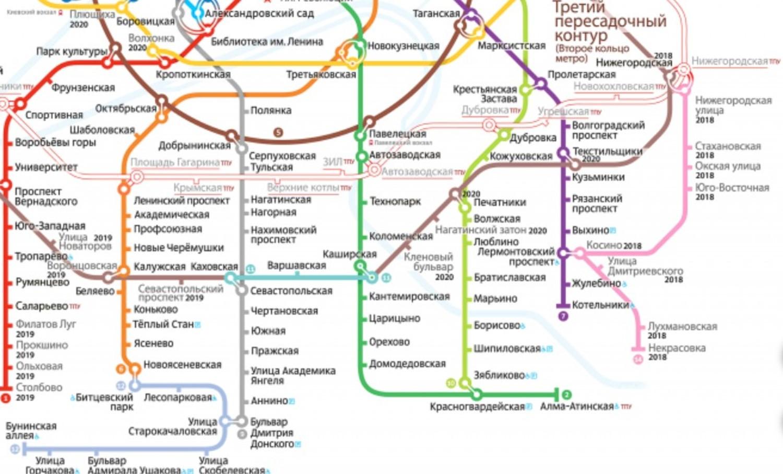 Некрасовская ветка метро схема на карте