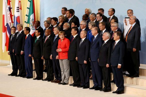 Участники саммита G20. Фото: Matt Cardy/Getty Images