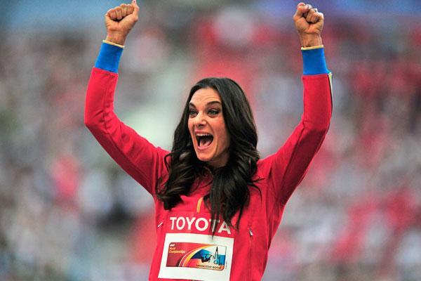 Елена Исинбаева побила мировой рекорд +Видео